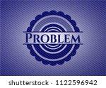 problem denim background | Shutterstock .eps vector #1122596942