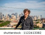 attractive forty something man...   Shutterstock . vector #1122613382