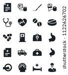 set of vector isolated black... | Shutterstock .eps vector #1122626702