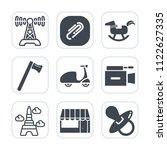 premium outline  fill icons set ...   Shutterstock .eps vector #1122627335