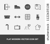 modern  simple vector icon set... | Shutterstock .eps vector #1122635138