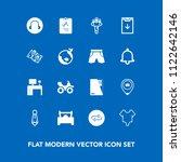 modern  simple vector icon set... | Shutterstock .eps vector #1122642146