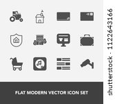 modern  simple vector icon set... | Shutterstock .eps vector #1122643166