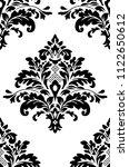 beautiful damask pattern. royal ... | Shutterstock . vector #1122650612