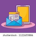 smartphone device design | Shutterstock .eps vector #1122655886