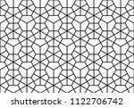 the geometric pattern with... | Shutterstock .eps vector #1122706742