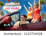 summer holidays  road trip and... | Shutterstock . vector #1122714428