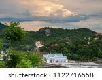 mountain and sea at khao ta... | Shutterstock . vector #1122716558