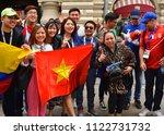 moscow  russia   june 17  2018  ...   Shutterstock . vector #1122731732