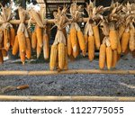 dried corn decorate | Shutterstock . vector #1122775055