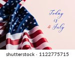 some american flags and the... | Shutterstock . vector #1122775715