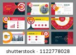 abstract presentation templates ... | Shutterstock .eps vector #1122778028