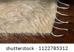 soft hairy woolen textile as... | Shutterstock . vector #1122785312