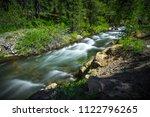 deadman forest stream  along... | Shutterstock . vector #1122796265