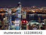 new york city  ny  usa   mach... | Shutterstock . vector #1122808142