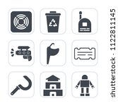premium outline  fill icons set ... | Shutterstock .eps vector #1122811145