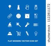 modern  simple vector icon set... | Shutterstock .eps vector #1122811172