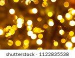 abstract circular bokeh... | Shutterstock . vector #1122835538