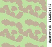 camo background in dusty pink... | Shutterstock .eps vector #1122836642