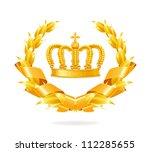 vintage emblem  bitmap copy | Shutterstock . vector #112285655