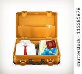 suitcase  bitmap copy | Shutterstock . vector #112285676