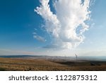 clouds over eastern washington | Shutterstock . vector #1122875312