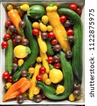 fresh  tasty and colorful...   Shutterstock . vector #1122875975