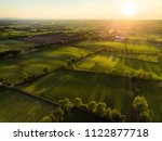 aerial view of endless lush... | Shutterstock . vector #1122877718