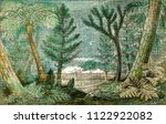 ideal view of a marsh and a...   Shutterstock . vector #1122922082