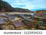 quarry beach mallacoota with... | Shutterstock . vector #1122924212