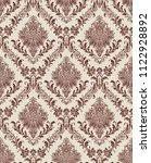 vector classic damask seamless...   Shutterstock .eps vector #1122928892