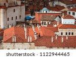 exterior view of cinci hamam in ... | Shutterstock . vector #1122944465