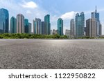 panoramic skyline and modern... | Shutterstock . vector #1122950822