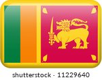 sri lanka flag rectangular... | Shutterstock . vector #11229640