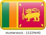 sri lanka flag rectangular...   Shutterstock . vector #11229640