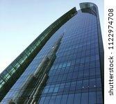 burj khalifa s reflection on... | Shutterstock . vector #1122974708
