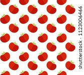 decorative seamless organic... | Shutterstock .eps vector #1123006466
