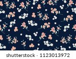 floral seamless pattern for... | Shutterstock . vector #1123013972
