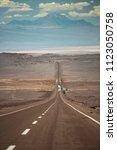 panamericana in nazca  peru....   Shutterstock . vector #1123050758