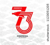indonesia independence day    Shutterstock .eps vector #1123051205