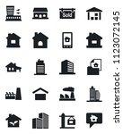 set of vector isolated black... | Shutterstock .eps vector #1123072145