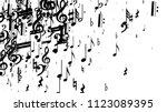 musical notes on white... | Shutterstock .eps vector #1123089395