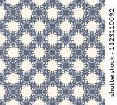 seamless vector decorative... | Shutterstock .eps vector #1123110092