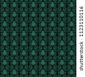 seamless vector decorative... | Shutterstock .eps vector #1123110116