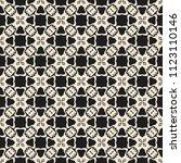 seamless vector decorative... | Shutterstock .eps vector #1123110146