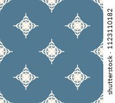 seamless vector decorative... | Shutterstock .eps vector #1123110182
