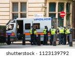 london  uk. 9th june 2018.  ... | Shutterstock . vector #1123139792