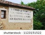 lucignano d'asso  montalcino ... | Shutterstock . vector #1123151522