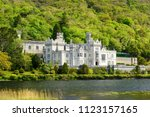 kylemore abbey  a benedictine...   Shutterstock . vector #1123157165