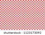 abstract pattern red net on... | Shutterstock .eps vector #1123173092